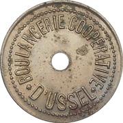 1/2 kilo - boulangerie coopérative- Ussel - 19 – avers