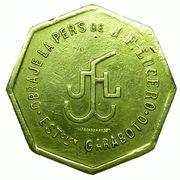 Salary token (Obraje de Lucero) – avers