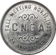 Token - CNGA Fall Meeting (Los Angeles, California) – avers