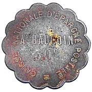 30 centimes Caisse Nationale d'Epargne Postale - Paris [75] – avers
