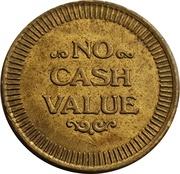 No Cash Value (Horseshoe Star) – revers