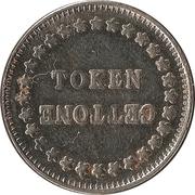 Jeton Token Gettone (24mm) – avers