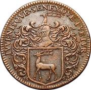 États de Bourgogne - Maire de Dijon Jacques de Frasans (2ème type) – avers