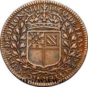 États de Bourgogne - Maire de Dijon Jacques de Frasans (2ème type) – revers