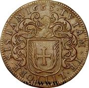 États de Bourgogne - Maire de Dijon Pierre Guillaume – avers
