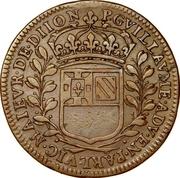 États de Bourgogne - Maire de Dijon Pierre Guillaume – revers