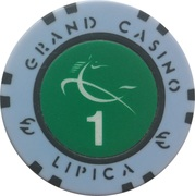 Casino Token - Grand Casino Lipica (1) – avers