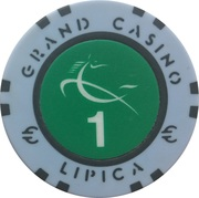Casino Token - Grand Casino Lipica (1) – revers