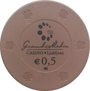 Casino Token - Grand Media (0,5) – revers