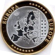 Euro fantasy medal Ireland – revers