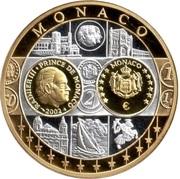 Token - European Currency (Monaco) – avers