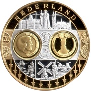 European Currency (Nederland) – avers
