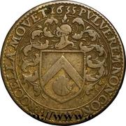 États de Bourgogne - Maire de Dijon Jean Tisserand (2ème type) – avers
