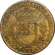 États de Bourgogne - Maire de Dijon Jean Tisserand (2ème type) – revers
