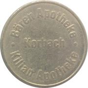 Bonus Taler - Bären Apotheke & Kilian Apotheke (Korbach) – avers