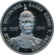 Token - Wilhelm II – avers