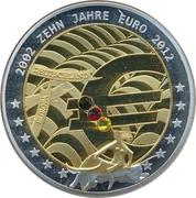 Token - 10 Jahre Euro – avers
