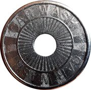 Jeton de lavage automobile - Car wash (26mm) – avers