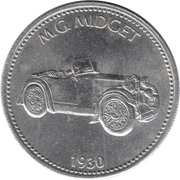 Jeton Shell - MG Midget 1930 – avers