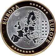 Token - European Currency (Monaco) – revers