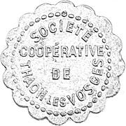 10 centimes Société Coopérative de Thaon les Vosges [88] – avers