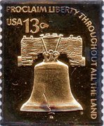 Token - U.S. Postage (13 Cents Liberty Bell) – avers