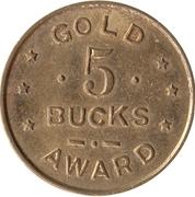5 Buck - Gold Award (5112) – avers