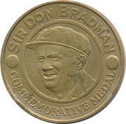Commemorative Medal - Herald Sun Sunday (Sir Donald Bradman) – avers