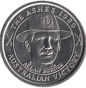 Commemorative Medal - The Advertiser (The Ashes) – avers