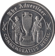 Commemorative Medal - The Advertiser (The Ashes) – revers
