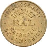 Etablissement Duchet - Bal - (Saint-Maurice - 94) – avers