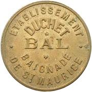 Etablissement Duchet - Bal - (Saint-Maurice - 94) – revers