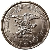 Token - NRA - Defenders of Freedom (Thomas Jefferson) – revers
