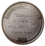 Token - NRA - Defenders of Freedom (Patrick Henry) – avers