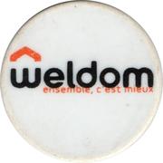 Jeton de chariot Weldom – revers