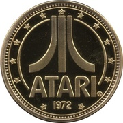 Atari Centipede Limited Edition Coin – revers