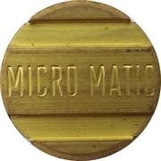 Jeton de lavage automobile - Micro Matic – avers