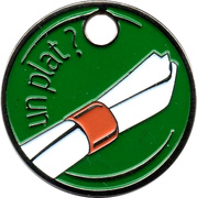 Jeton de chariot - Heineken – revers
