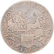 États de Bourgogne - Maire de Dijon Pierre Monin – avers