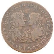 Amour et mariage - Louis XIV et Marie Thérèse – avers