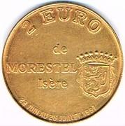 2 euro de Morestel (38) – avers