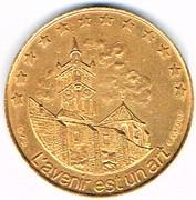 2 euro de Morestel (38) – revers