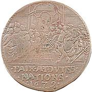Le Temple de la Paix - Nimègue 1679 – revers