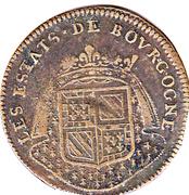 Jeton - Etats de Bourgogne - 1686 – revers