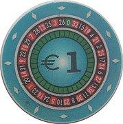 1 Euro - Casino Park (Nova Gorica) – avers