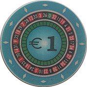 1 Euro - Casino Park (Nova Gorica) – revers