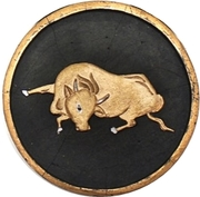 Medal - Year of the Ox – avers