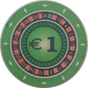 1 Euro - Casino Hit (Kranjska Gora) – avers