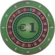 1 Euro - Casino Hit (Kranjska Gora) – revers