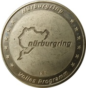 Token - Nürburgring – avers